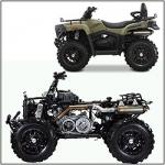Пластик (Обвес) для квадроциклов Mustang/BASHAN ATV 125/400