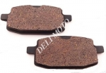Колодки тормозные (дисковые) YIBEN YB125QT-150/VIPER 125-250