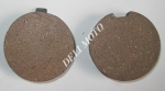 Колодки передние диск. тормоз  ZONGSHEN ZS200GY-2