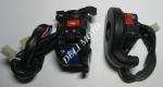 Блок кнопок  управл. левый +правый MUSSTANG X-CROSS 250GY-7