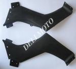 Пластик защита топл.бака пара для квадриков Mustang/BASHAN
