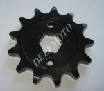 Звезда передняя 530*13 CG-150/250 Musstang  черная каленая Тайва