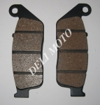 Колодки тормозные (диск) Zongshen CМ125