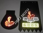Брызговики на крылья (пара) KML (mod:Suzuki)
