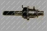 Вал заводной лапки в сборе MUSSTANG MT150/200-6 (MOD)