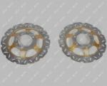 Диск тормозной переднего колеса MUSSTANG JAVA 200/250 -10B (MUS)