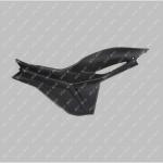 Пластик правый щиток MUSSTANG JAVA 200/250 (MUS)