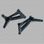 Подножки задние (пассажирские) (пара) MUSSTANG JAVA 200/250 -10B