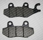 Колодки тормозные задние IRBIS XR250R (Shineray XY250GY-6B) MUS