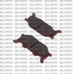 Колодки тормозные передние Lifan LF250-В