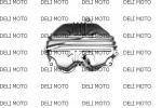 Крышка головки цилиндра VIPER ZS150A (Mod)