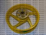 Диск задний AL + звездочка (3,5*17) VIPER V200CR MOD Желтый