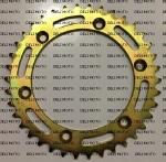 Звезда задняя 520x38T SFR (GOLD)   IRBIS XR250R