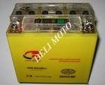 АКБ YTX12A-BS(Gel)  12 v 9,5ah желтый с индикатором высокий