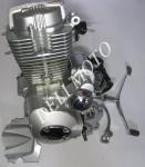 Двигатель CG-200  вал под реверс Musstang/Zubr