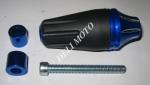 Отбойник двигателя боковой  MUSSTANG (синий)