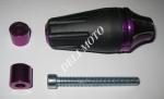 Отбойник двигателя боковой  MUSSTANG (фиолетовый)