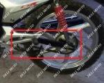 Вилка(подвеска) MUSSTANG MT150/200-7(MUS)