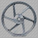 Диск передний R18 x 1.60J Musstang MT150/200-7 (MUS)