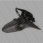 Крыло заднее (под номерной знак) IRBIS XR250R (Shineray XY250GY-