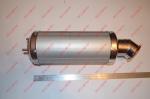Глушитель (прямоток) для квадриков Spark SP200 (Original)