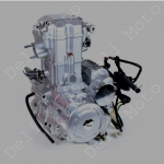 Двигатель водяное охлаждение трицикл  MUSSTANG 250-4V (250 кубов