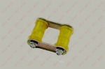 Крепление рессоры (серьга) с втулками в комплекте LONCIN LX200-2
